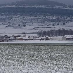 Paisaje Nevado de Torrubia de Soria